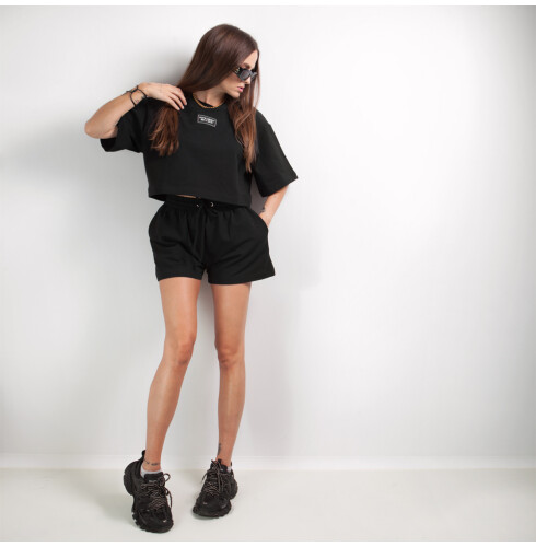 shorts set BLACK